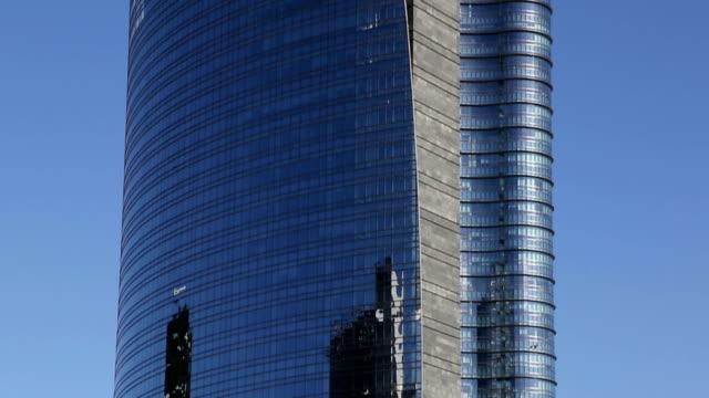 Modern skyscraper in Milan