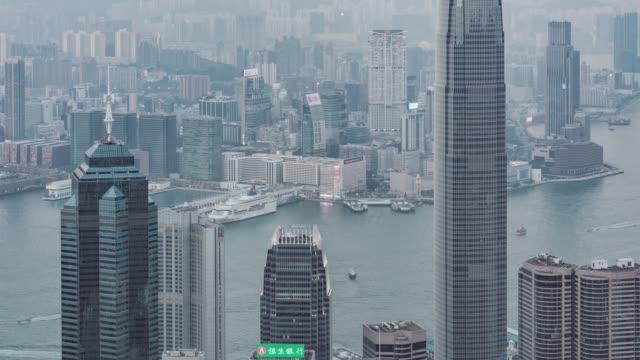 T/L HA TU Modern Skyscrapers in Hong Kong