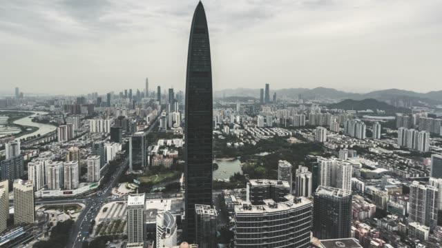 T/L TU moderne Wolkenkratzer in Shenzhen / Guangdong, China