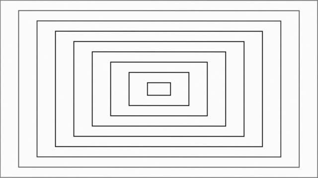 vídeos y material grabado en eventos de stock de modern square rectangle trendy animated background, retro style geometric shapes, satisfying slides summer, abstract thin lines move endlessly - imagen virada