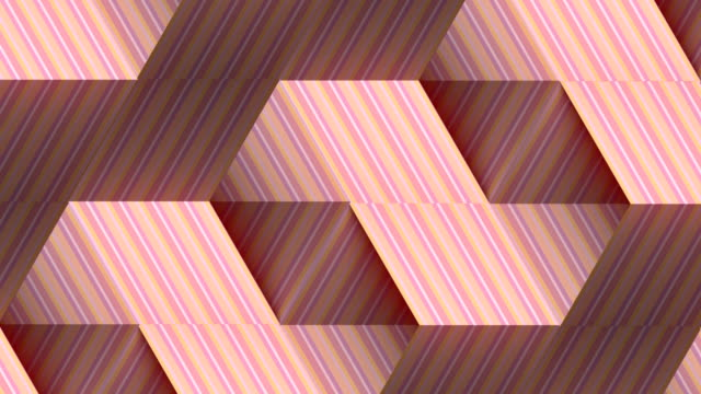 modern striped graphic background. abstract fashion digital seamless loop pattern. 3d rendering. hd resolution - eternity stock videos & royalty-free footage