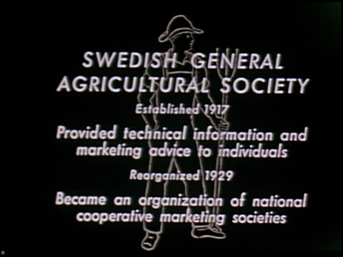 modern sweden (aka traveling the middle way in sweden) - 4 of 16 - altri spezzoni di questa ripresa 2373 video stock e b–roll