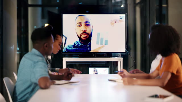modern technology makes it easier for entrepreneurs to connect - voip stock videos & royalty-free footage