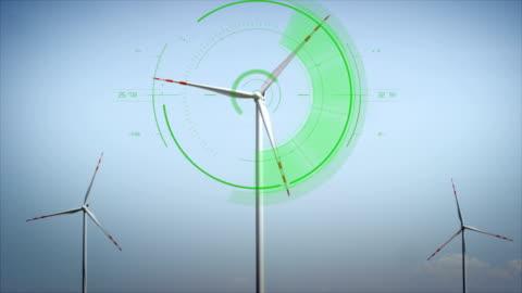 vídeos y material grabado en eventos de stock de moderna turbinas eólicas - explorar nuevo territorio