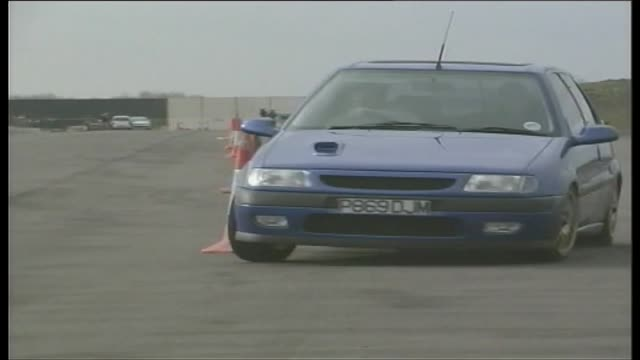 modified citroen saxo vts - customised stock videos & royalty-free footage