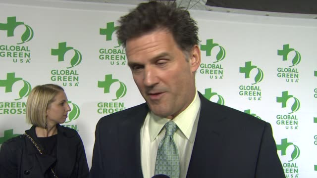 W Moffet on what he appreciates about the work Global Green USA is doing what he does to be green in his own life at Global Green USA's 10th Annual...