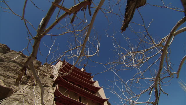 Mogao Caves Over the branches of a deadwood