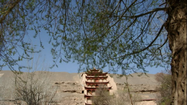mogao caves;finding the greens thriving; high-speed photography - high speed photography stock videos & royalty-free footage