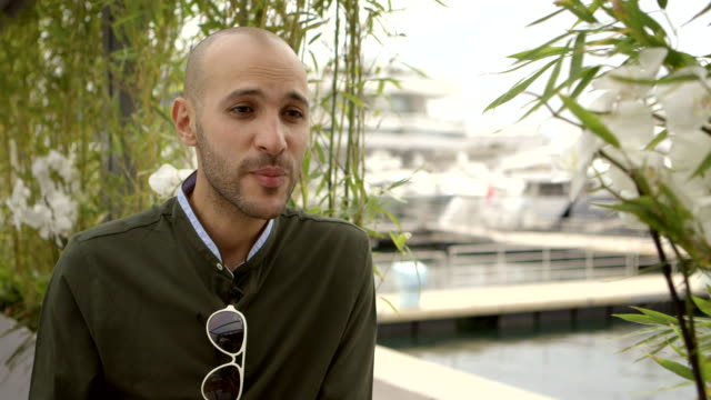 interview mohamed diab on claustrophobia and fights in the film at 'clash' interviews on may 13 2016 in cannes france - claustrophobia stock videos & royalty-free footage