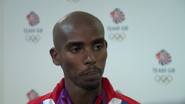 Mohamed Farah on how London did hosting the games at Team GB Medal Winners Press Conference Mo Farah Olympic Gold Medalist 5000M and 10000M at...