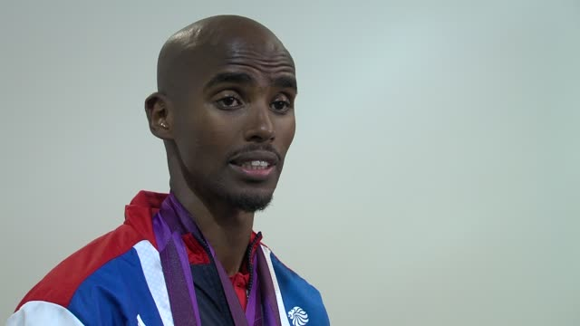 Mohamed Farah on how managed his final race at Team GB Medal Winners Press Conference Mo Farah Olympic Gold Medalist 5000M and 10000M at Olympic Park...