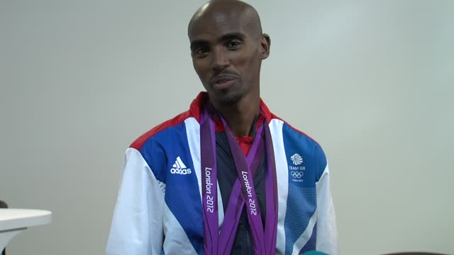 Mohamed Farah on if winning would change him at Team GB Medal Winners Press Conference Mo Farah Olympic Gold Medalist 5000M and 10000M at Olympic...