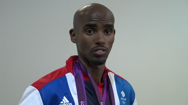 Mohamed Farah on the funding for Rio 2016 at Team GB Medal Winners Press Conference Mo Farah Olympic Gold Medalist 5000M and 10000M at Olympic Park...