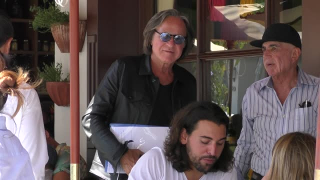 Mohamed Hadid joins Robert Shapiro for lunch in Beverly Hills in Celebrity Sightings in Los Angeles