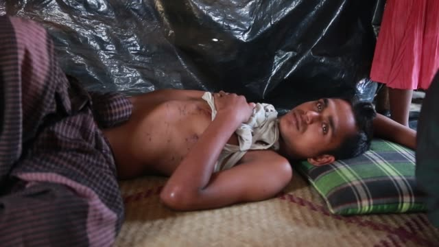 COX'SBAZAR BANGLADESH NOVEMBER 27 Mohammad ShowifeRohingya Muslim seen at Rohingya Refugee Camp at Cox's Bazar Bangladesh on November 27 2017...