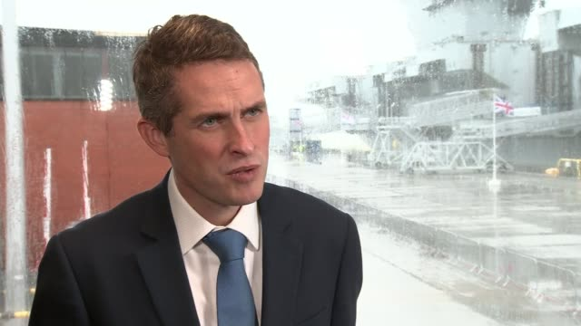 Mohammed Abdallah found guilty of joining Islamic State Hampshire Portsmouth INT Gavin Williamson MP interview SOT I think the British people...