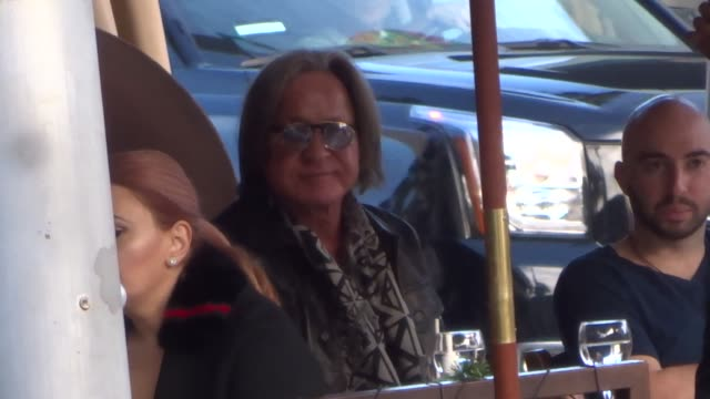 mohammed hadid shopping in beverly hills in celebrity sightings in los angeles, - arts culture and entertainment stock videos & royalty-free footage