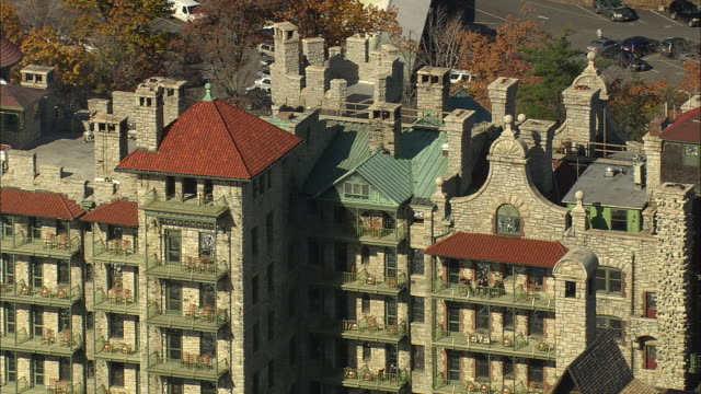 mohonk mountain house resort - mohonk stock videos and b-roll footage