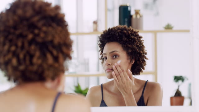 moisturise, your skin will thank you for it - grooming stock videos & royalty-free footage