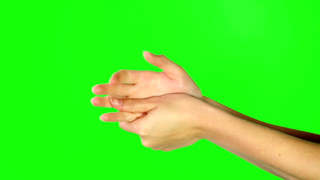 moisturized hands are happy hands - rubbing stock videos & royalty-free footage