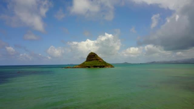 vídeos de stock e filmes b-roll de mokoliʻi, hawaii - ilha