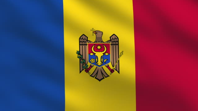 moldova flag - moldova stock videos and b-roll footage