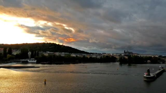 moldova - river vltava stock videos & royalty-free footage
