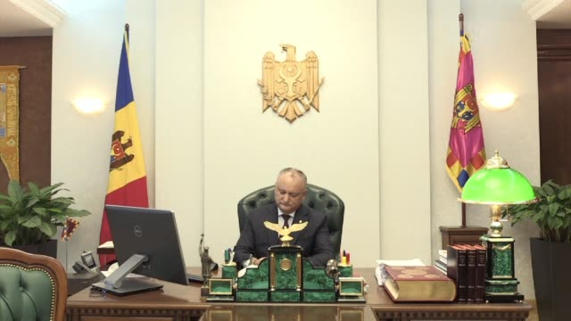 Moldova's President Igor Dodon annulls a decree to dissolve parliament enforcing a standoff between two governments that both insist on their claim...