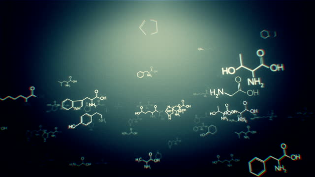 molecular structure - formula stock videos & royalty-free footage