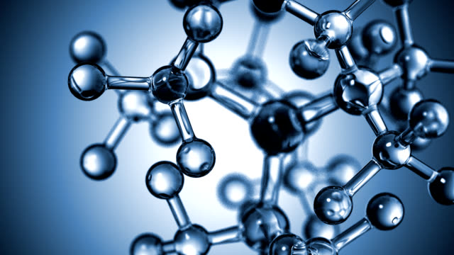 molecular structure - physical structure stock videos & royalty-free footage