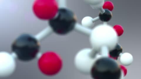 vídeos y material grabado en eventos de stock de estructura molecular  - fórmula química