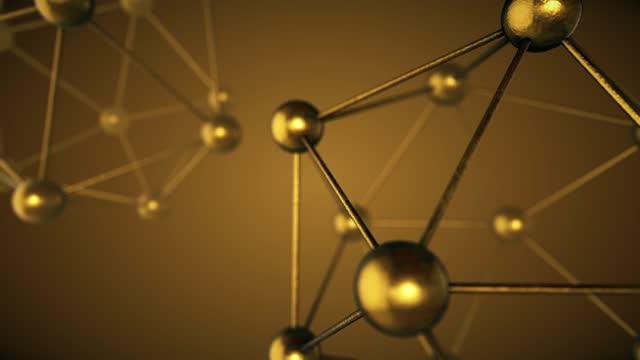 vidéos et rushes de structure moléculaire, ozone, hydrogène et oxygène, animation en boucle - formule chimique