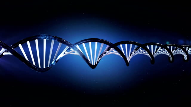 DNA Molecule - Loopable - 4K