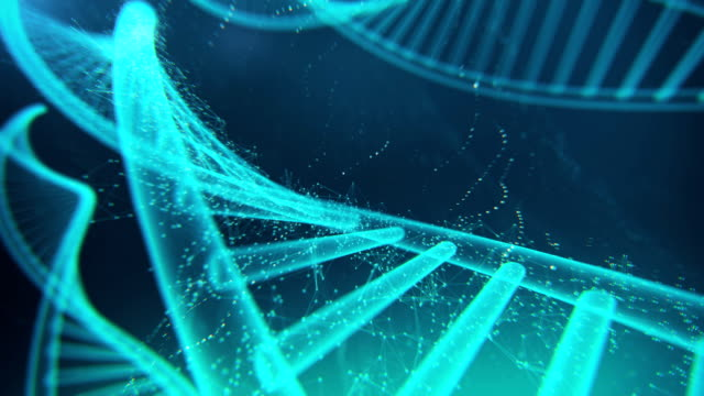 DNA Molecule Loopable 4K