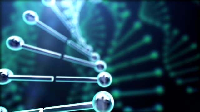 molecola di dna - nanotecnologia video stock e b–roll