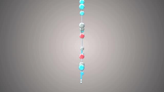 vídeos y material grabado en eventos de stock de molécula jwh - 018 - fórmula química