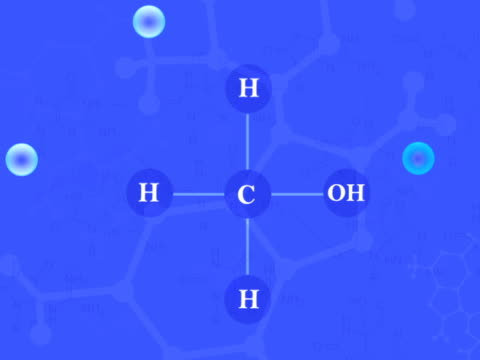 molecules blue pal - chemistry stock videos & royalty-free footage