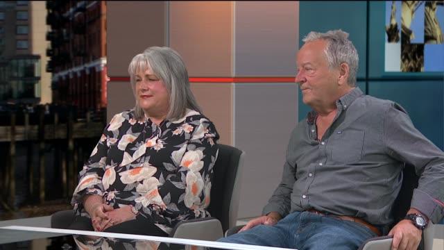 Second 'Mollyfest' to be held to raise money for eating disorders charities ENGLAND London GIR INT Joanne McLaren and Doug McLaren LIVE STUDIO...