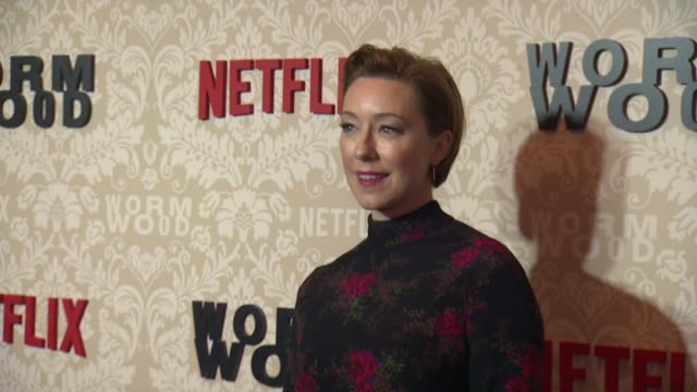 Molly Parker at 'Wormwood' Launch Event at The Campbell on December 12 2017 in New York City
