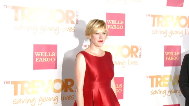molly ringwald at 16th annual trevor project benefit presented by wells fargo in los angeles ca - molly ringwald stock videos & royalty-free footage