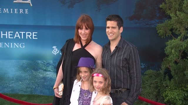 """molly ringwald at 2012 los angeles film festival premiere of disney pixar's """"brave"""" molly ringwald at 2012 los angeles film festival p at dolby... - molly ringwald stock videos & royalty-free footage"""