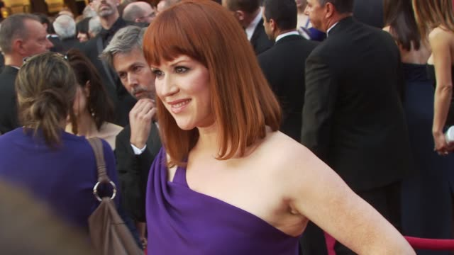 molly ringwald at the 82nd annual academy awards arrivals at hollywood ca - molly ringwald stock videos & royalty-free footage