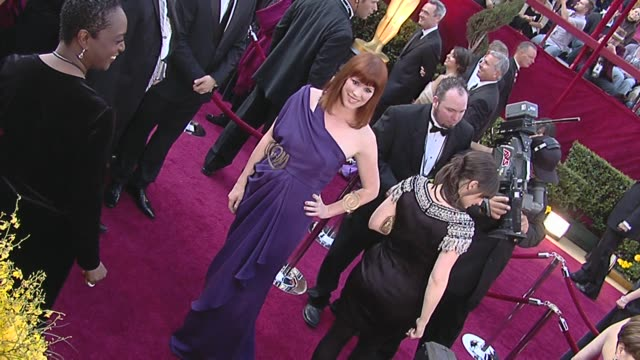 molly ringwald at the 82nd annual academy awards - arrivals part 2 at los angeles ca. - molly ringwald stock videos & royalty-free footage
