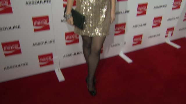molly ringwald at the assouline and memoire set: coca-cola, music & sports launch event in los angeles, california on 12/05/13 - molly ringwald stock videos & royalty-free footage