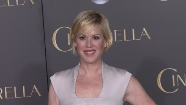 molly ringwald at the disney's cinderella world premiere at the el capitan theatre on march 01 2015 in hollywood california - molly ringwald stock videos & royalty-free footage