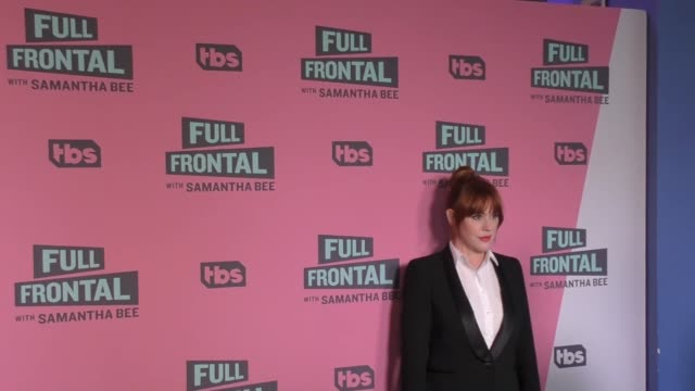molly ringwald at the full frontal with samantha bee fyc event at writer's guild theatre in beverly hills in celebrity sightings in los angeles - molly ringwald stock videos & royalty-free footage
