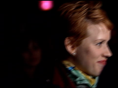 molly ringwald at the premiere of 'the late shift' at dga in los angeles, california on february 21, 1996. - molly ringwald stock videos & royalty-free footage