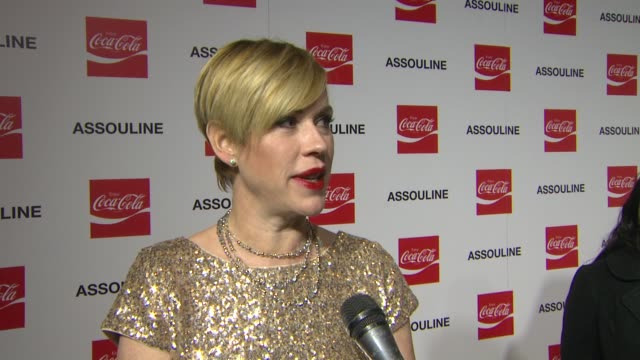 molly ringwald on coca-cola at the assouline and memoire set: coca-cola, music & sports launch event in los angeles, california on 12/05/13 - molly ringwald stock videos & royalty-free footage