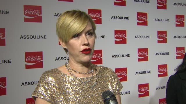 molly ringwald on nelson mandela at the assouline and memoire set: coca-cola, music & sports launch event in los angeles, california on 12/05/13 - molly ringwald stock videos & royalty-free footage