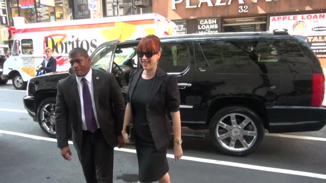 molly ringwald outside the nbc studios in new york, ny, on 08/15/12 - molly ringwald stock videos & royalty-free footage